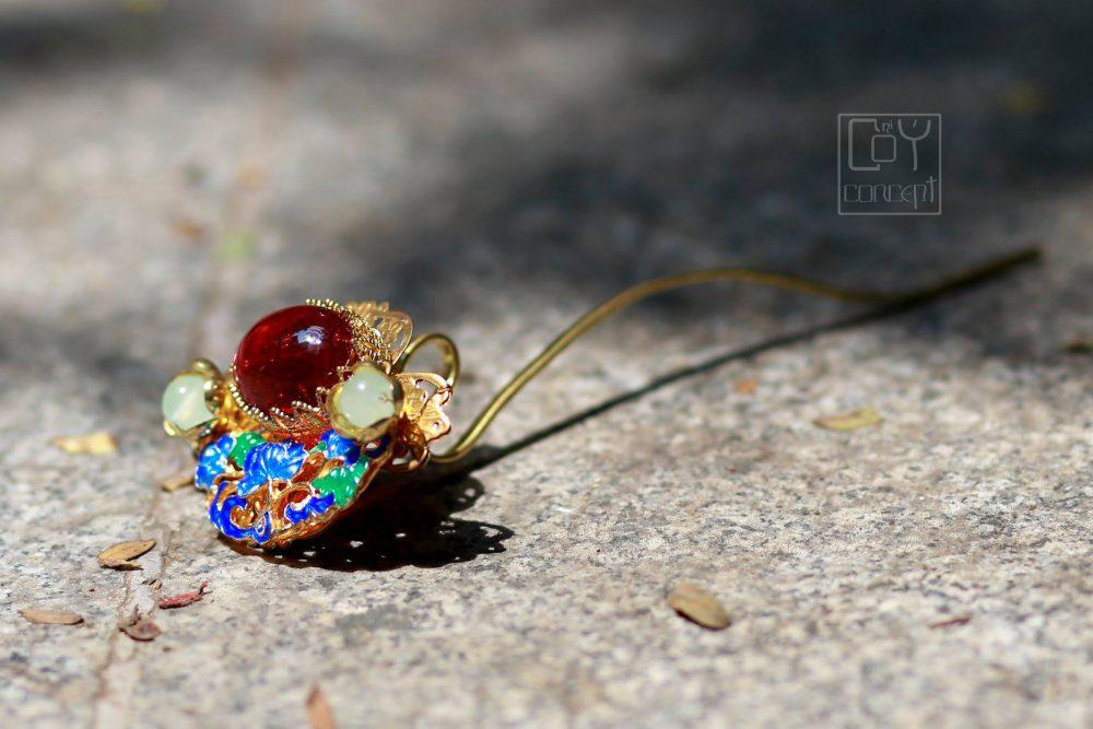 Chụp Ảnh Cổ Trang - TRÂM CÀI - THỦY MẶC ÂM SẮC