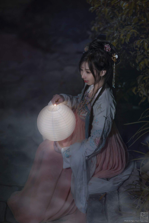 Chụp Ảnh Cổ Trang - Chụp Đêm Cổ Trang - Minh Nguyệt - Hình 3