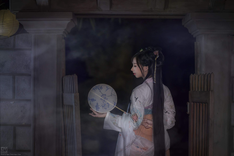 Chụp Ảnh Cổ Trang - Chụp Đêm Cổ Trang - Minh Nguyệt - Hình 4