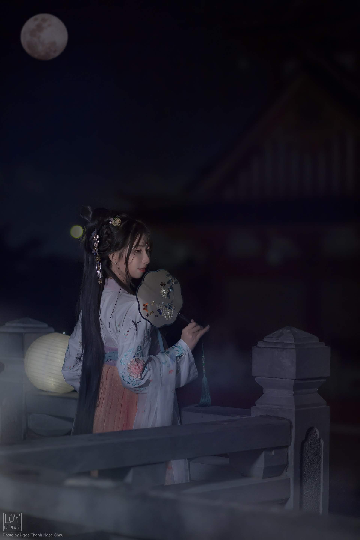 Chụp Ảnh Cổ Trang - Chụp Đêm Cổ Trang - Minh Nguyệt - Hình 8