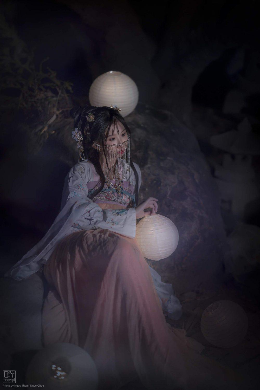Chụp Ảnh Cổ Trang - Chụp Đêm Cổ Trang - Minh Nguyệt - Hình 9