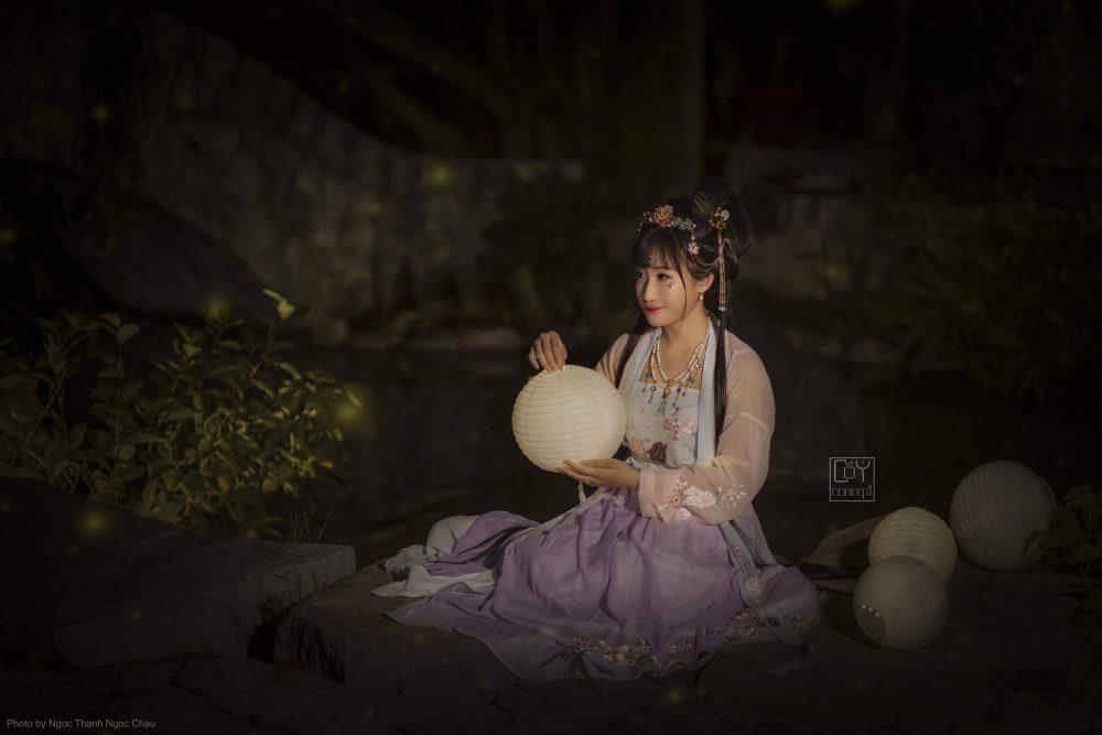Chụp Ảnh Cổ Trang - Anh Đào Thố - DẠ NGUYỆT - Hình 2