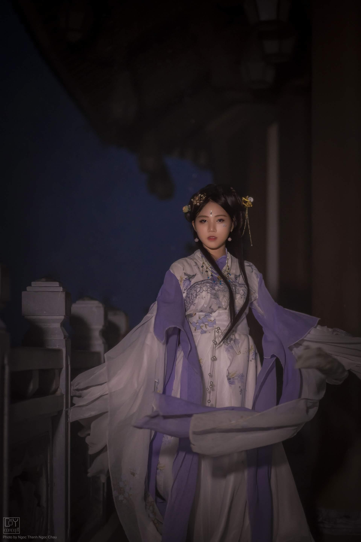 Chụp Ảnh Cổ Trang - Hán Phục Tiêp Hiệp - CẨM HỌA - Hình 9