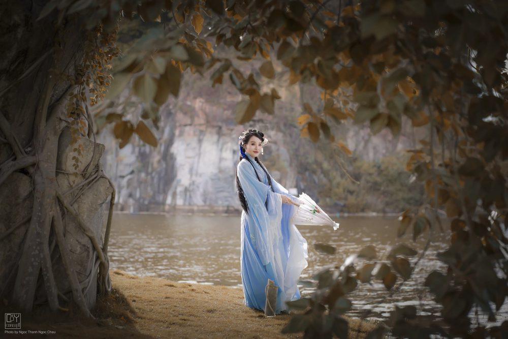 Chụp Ảnh Cổ Trang - Hán Phục Tiên Hiệp -Thanh Phong - Hình 1