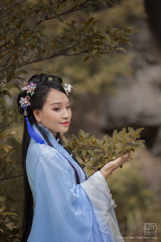 Chụp Ảnh Cổ Trang - Hán Phục Tiên Hiệp -Thanh Phong - Hình 3