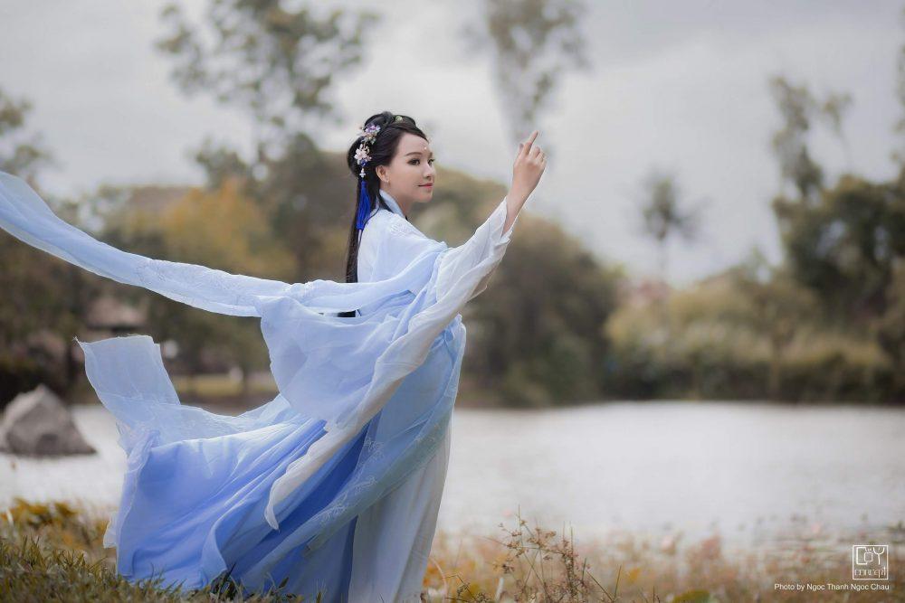 Chụp Ảnh Cổ Trang - Hán Phục Tiên Hiệp -Thanh Phong - Hình 5