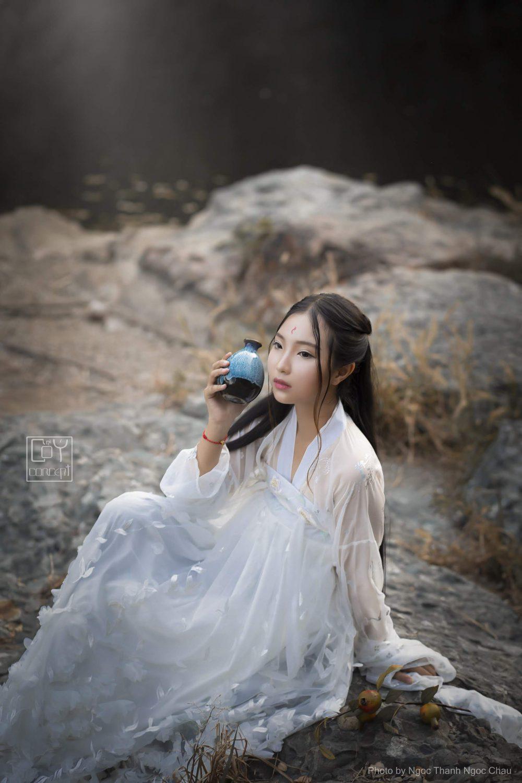 Chụp Ảnh Cổ Trang - Cổ Ý Concept - Bạch Hồ - Hình 9