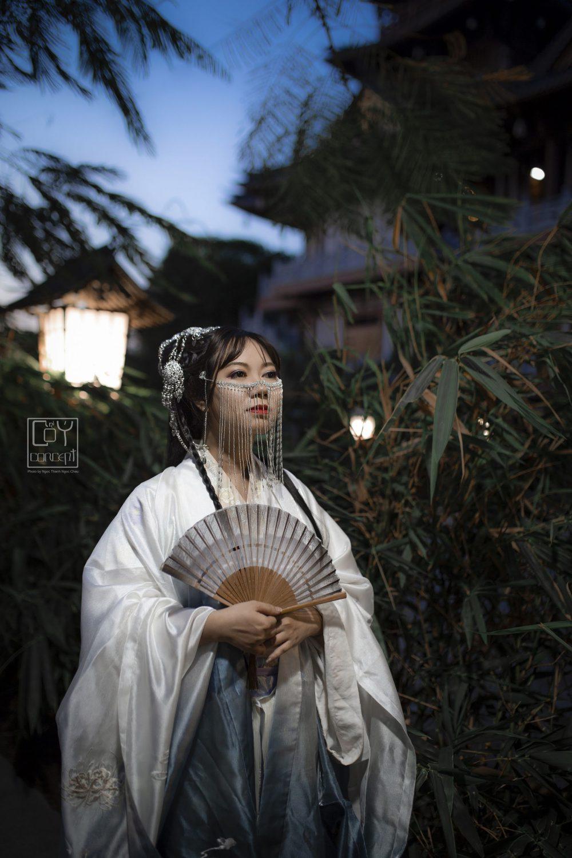 Chụp Ảnh Cổ Trang - Tịch Dương - áo khoác Cửu Vĩ Hồ - Hình 10