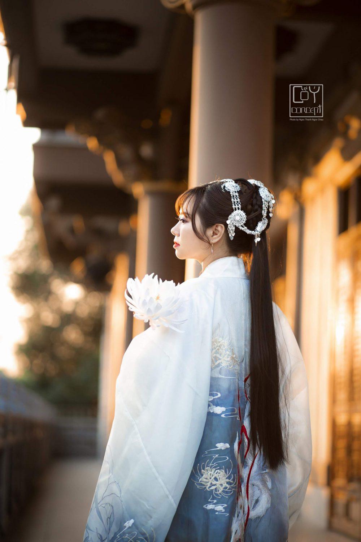 Chụp Ảnh Cổ Trang - Tịch Dương - áo khoác Cửu Vĩ Hồ - Hình 2