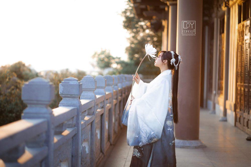 Chụp Ảnh Cổ Trang - Tịch Dương - áo khoác Cửu Vĩ Hồ - Hình 3