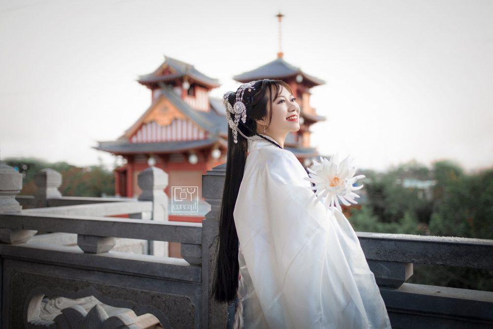 Chụp Ảnh Cổ Trang - Tịch Dương - áo khoác Cửu Vĩ Hồ - Hình 4
