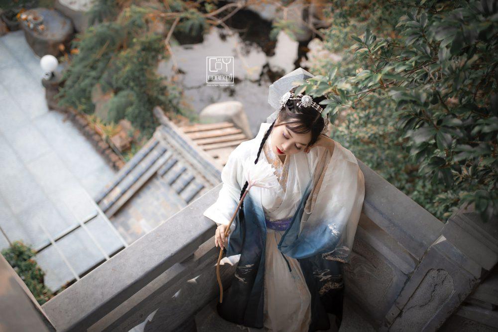 Chụp Ảnh Cổ Trang - Tịch Dương - áo khoác Cửu Vĩ Hồ - Hình 5