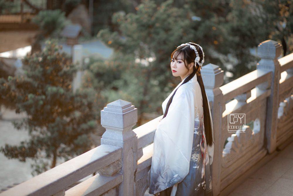 Chụp Ảnh Cổ Trang - Tịch Dương - áo khoác Cửu Vĩ Hồ - Hình 6