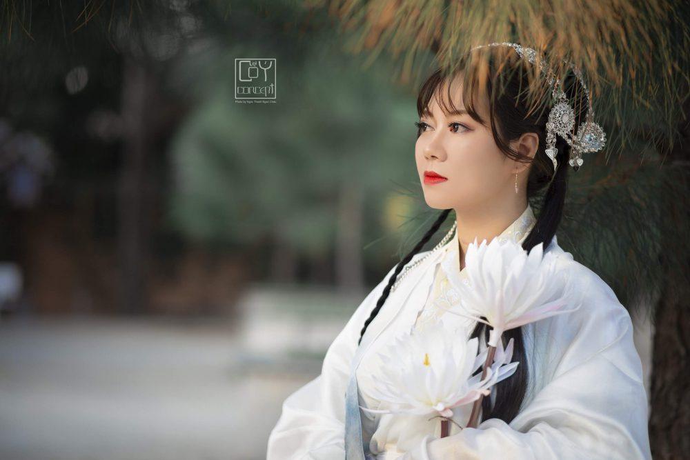 Chụp Ảnh Cổ Trang - Tịch Dương - áo khoác Cửu Vĩ Hồ - Hình 8
