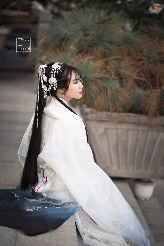 Chụp Ảnh Cổ Trang - Tịch Dương - áo khoác Cửu Vĩ Hồ - Hình 9