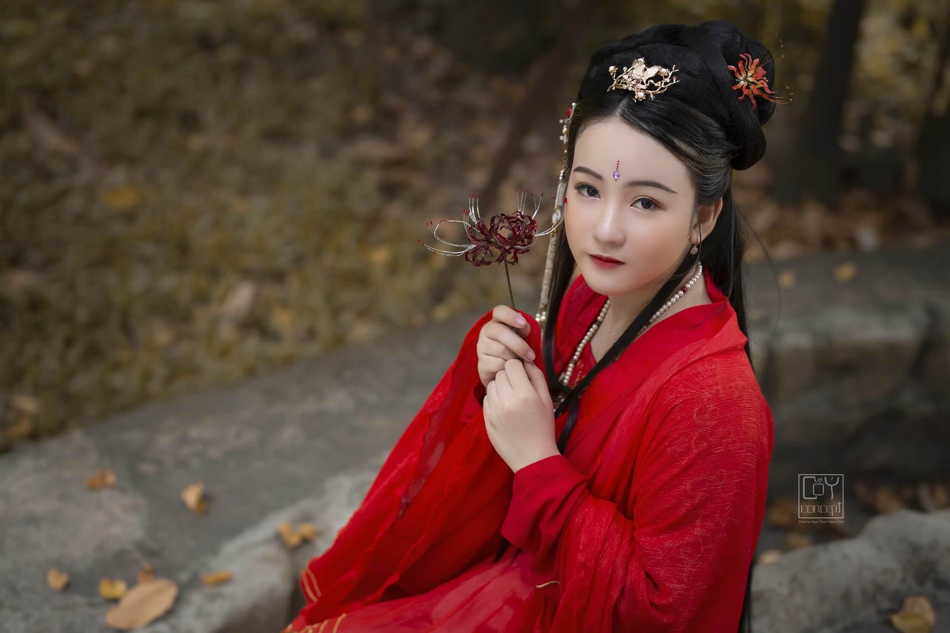 Bỉ Ngạn Hoa - Chụp Hình Cổ Trang - Hình 9