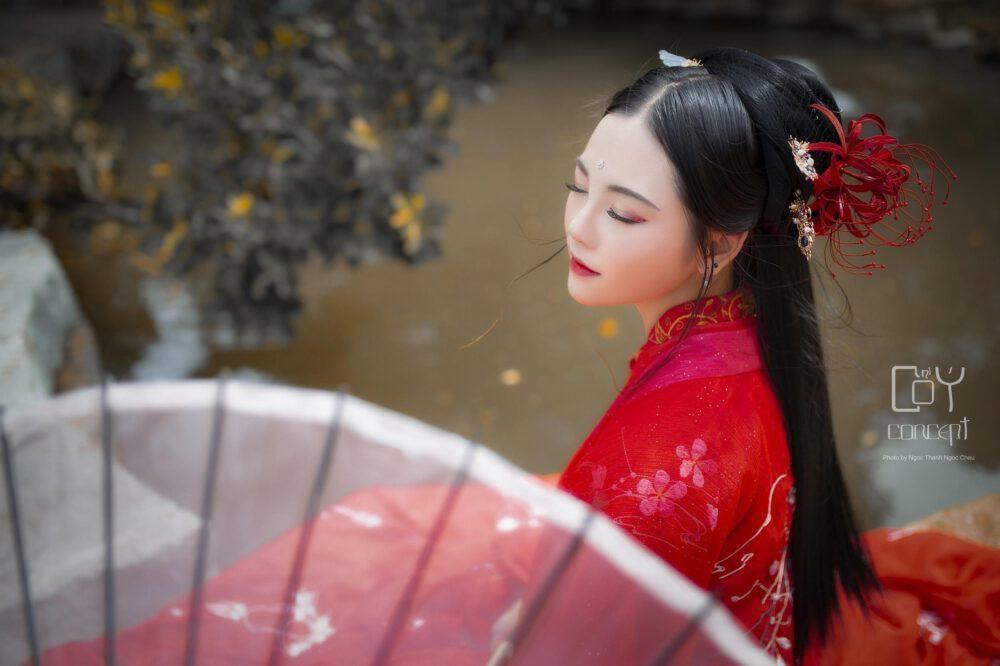 Mạn Châu Sa Hoa - Hoa Bỉ Ngạn - Hoa Bỉ Ngạn - Chụp Hình Cổ Trang